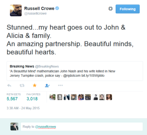 Russell_Crowe_on_Twitter_Stunned...my_heart_goes_out_to_John_&_Alicia_&_family._An_amazing_partnership._Beautiful_minds,_beautiful_hearts._t.co_XF4V9MBwU4_-_2015-05-25_01.42.24