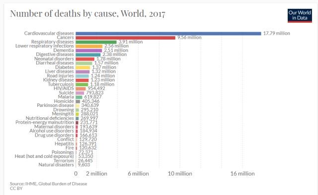2017 global death